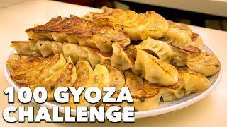 100 GYOZA CHALLENGE | Kagurazaka, Tokyo