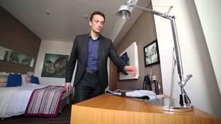Ролик о шпионе для корпоративного фильма для компании Энергомера