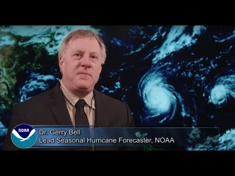 Dr. Gerry Bell, lead seasonal hurricane forecaster at NOAA's Climate Prediction Center, and the rest of his team NOAA, are predicting an 75 percent chance that the 2018 Atlantic hurricane season will either be near-normal or above normal.