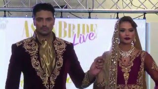 Sharons Couture - Asian Bride Live 2015 - Aaina Bridal Collection