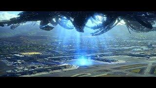 Кроссбоунс попадает на корабль пришельцев. Нападение на аэропорт. Скайлайн 2. 2017