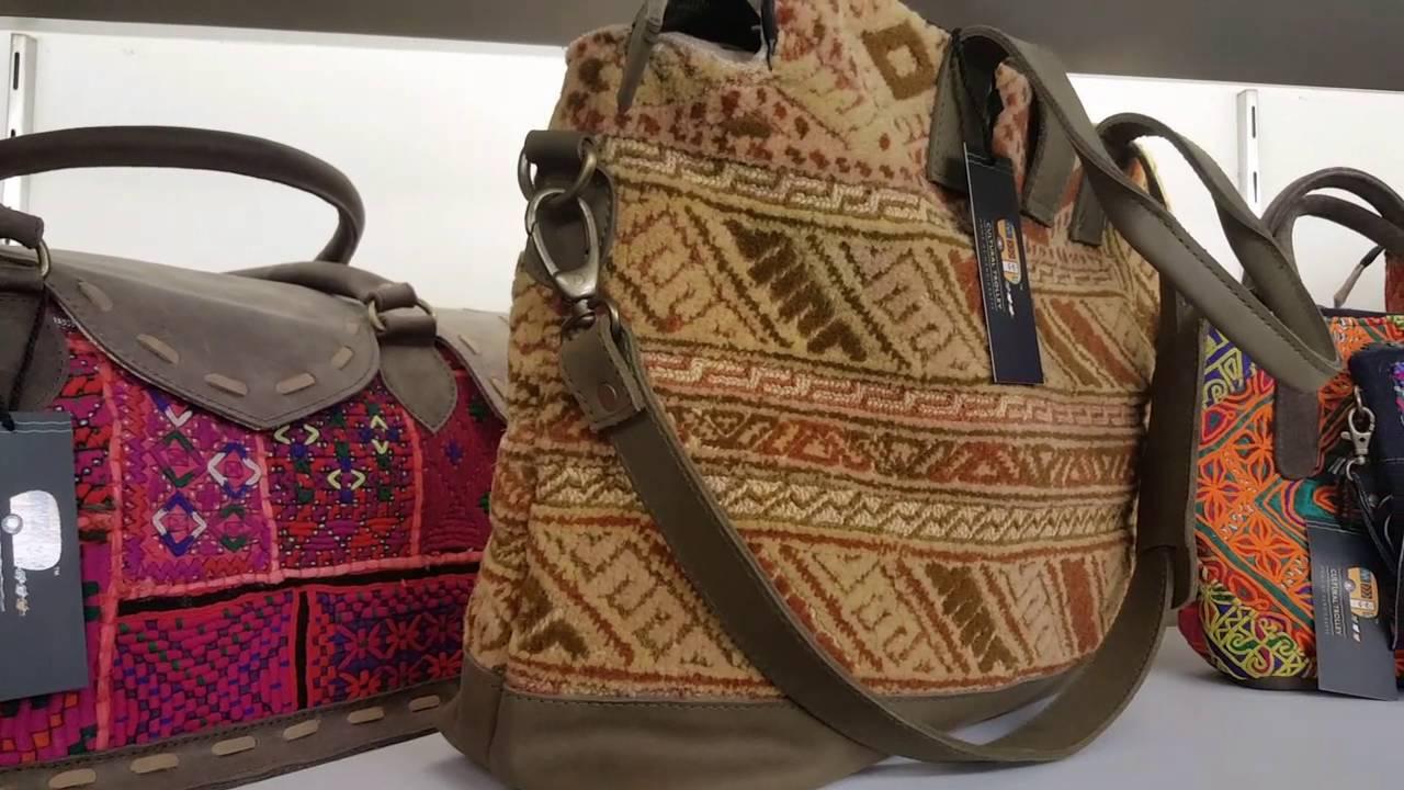Designer Handmade Handbags Mumbai Cultural Trolley Unique