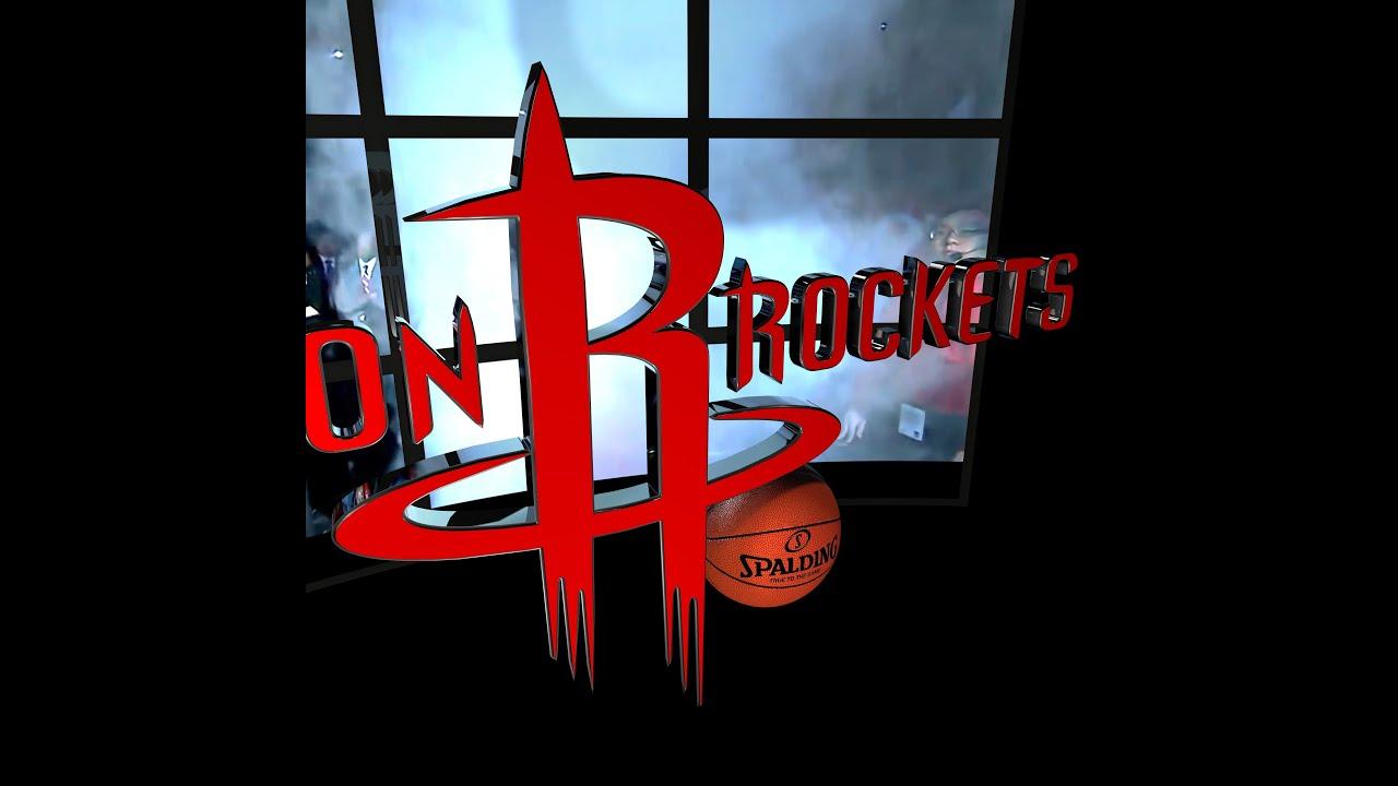Houston Rockets Animated Logo Intro - YouTube