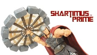 Marvel Select Thor God of Thunder Disney Store Exclusive 2015 Collectible Action Figure Review