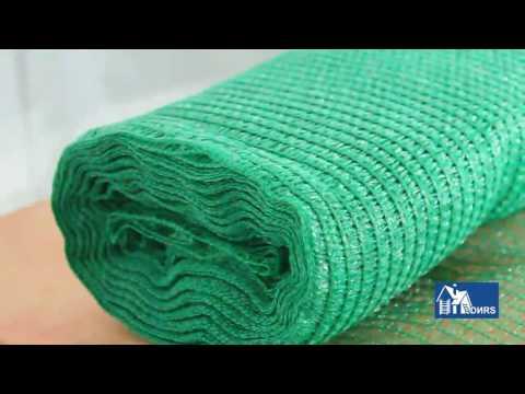 Видео сетка фасадная 35г 3х100  плотность зеленая