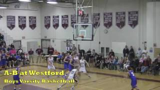 Acton Boxborough Varsity Boys Basketball @ Westford 1/6/12