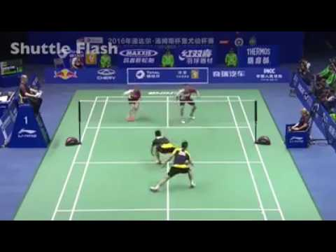 The Funny Moments In Badminton F F