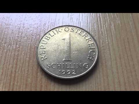 Austria - 1 Schilling coin from 1992 in HD