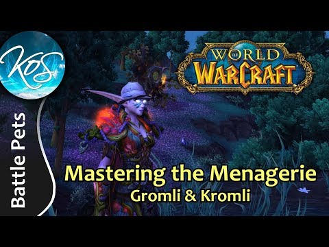 World Of Warcraft Mastering The Menagerie Gromli Kromli Wow