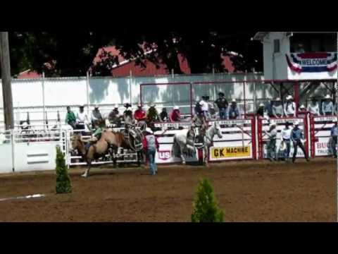 St. Paul Rodeo 2012 Bareback Riding Event
