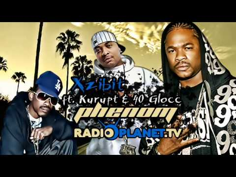 Xzibit   Phenom Ft  Kurupt & 40 Glocc Bass Boosted