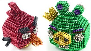 DIY How To Make Angry Birds with Magnetic Balls | The Most Satisfying Video