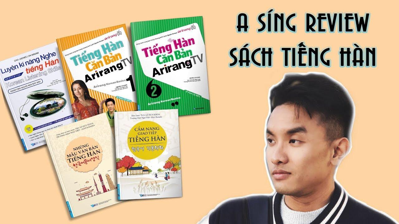 [A SÍNG  REVIEW] –  5 cuốn sách tự học tiếng Hàn hữu ích