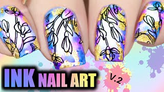 ✒️INK NAIL ART 🌟 Trendy Nail Design (2020)