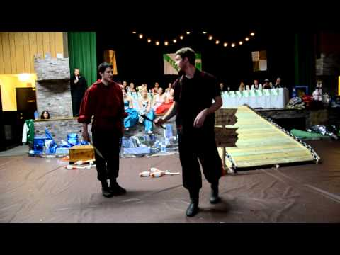 Juggling at Immanuel Lutheran High School - Eau Claire, WI