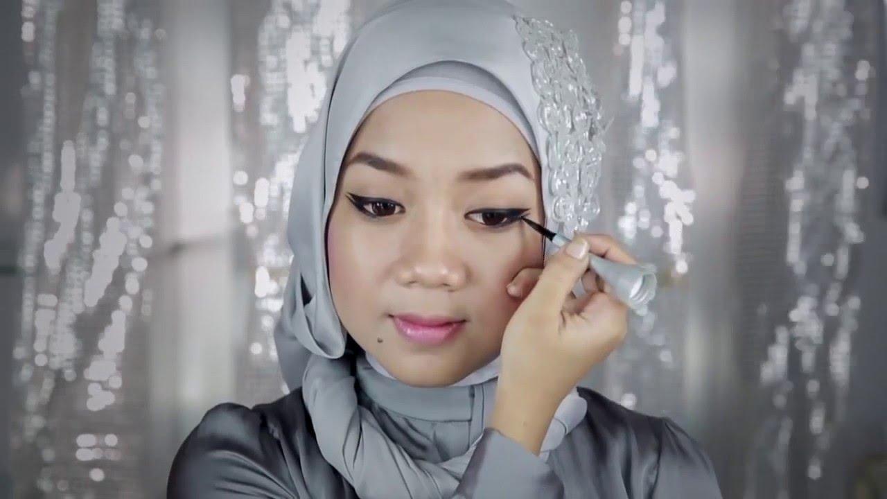 Video Tutorial Cara Memakai Eyeliner Gel Wardah Ala Cheryl