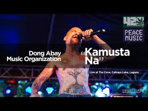Dong Abay Music Organization - Kamusta Na (w/ Lyrics) by Yano - 420 Philippines Peace Music 6
