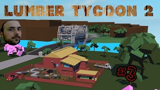 Burning Mountain and Lava Tree - Roblox :Lumber Tycoon #3