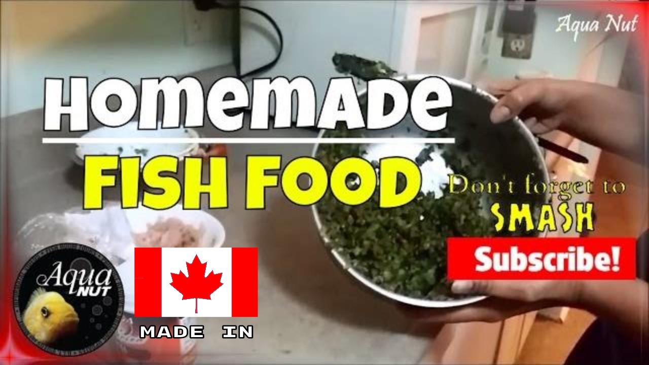 Homemade Fish Food | Preparing Food For