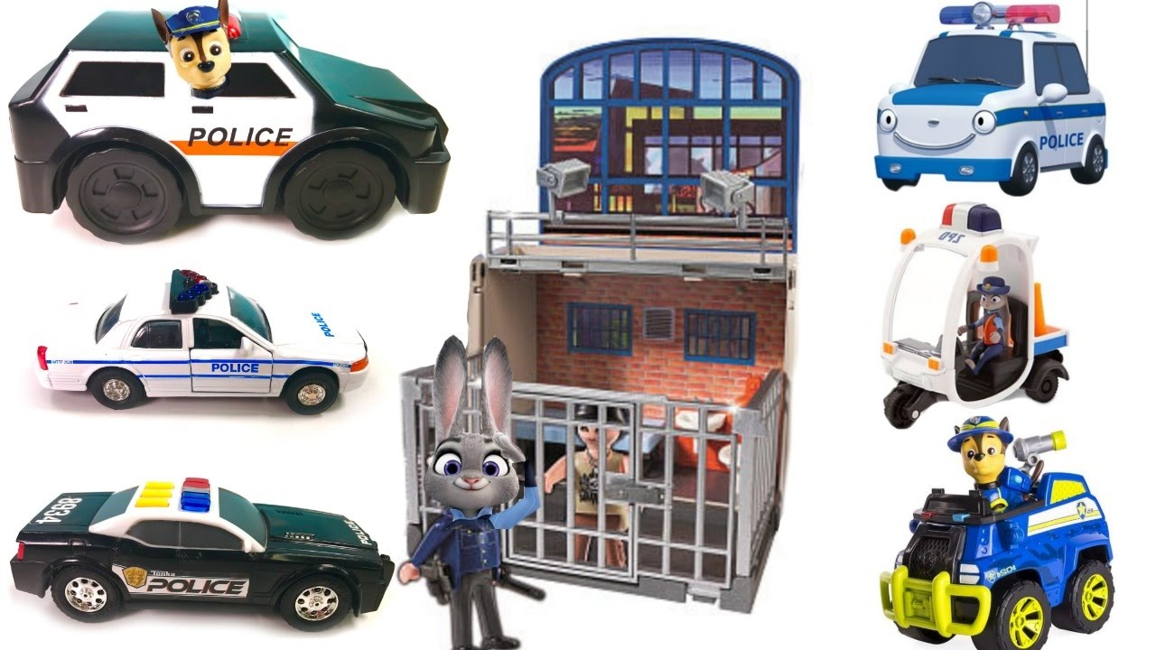 Paw Patrol Chase And Lots Of Police Cars And Vehicles   YouTube