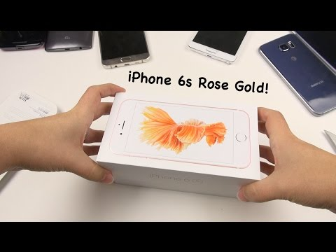 iPhone 6s Rose Gold: Unboxing & First Impressions