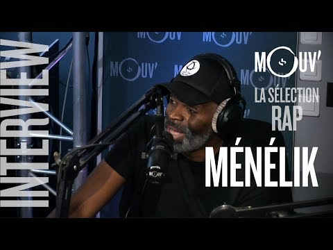 """MENELIK : """"Le rap français a perdu sa spécificité """" #SELECTIONRAP"""