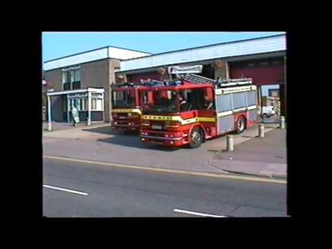 RETRO - Leicestershire Fire & Rescue 1996