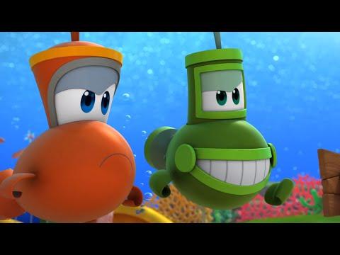Мультфильм морские друзья