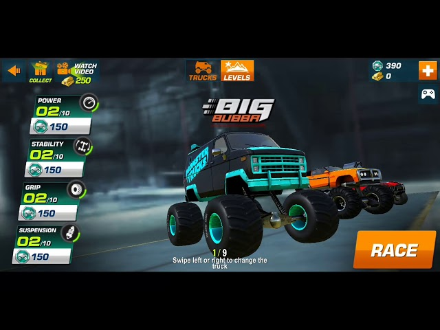 Monster Trucks Racing 2019 First Gameplay