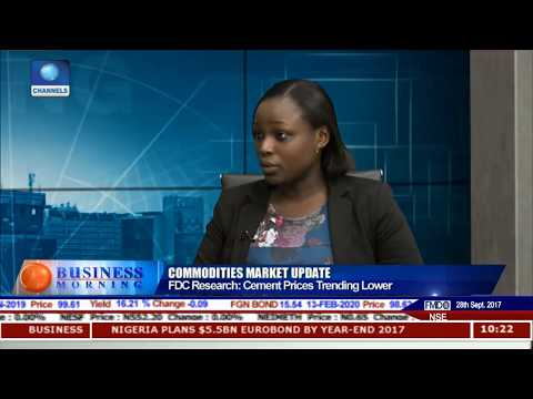 Prices Of Cement To Trend Lower - FDC Research Pt.1 |Business Morning|