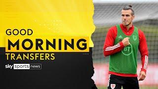Gareth Bale flies to London ahead of return to Tottenham ✈️ | Good Morning Transfers