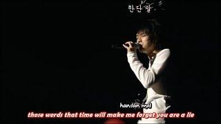 DBSK 동방신기 - Unforgettable 바보 2nd Asia Tour [eng + rom + hangul + karaoke sub]