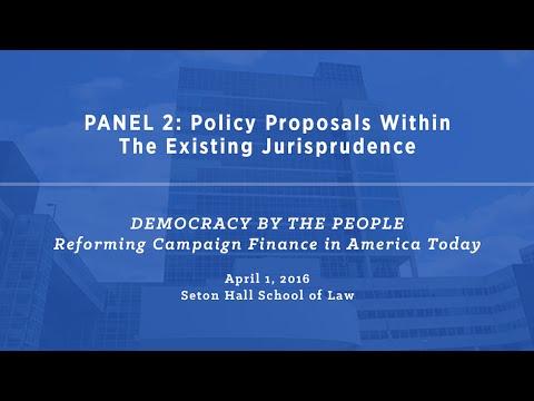 Symposium at Seton Hall School of Law (Part 2/5)
