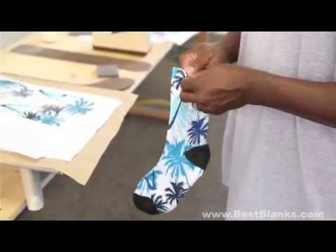 How to Decorate SubliSocks the Perfect Sublimation Sock!