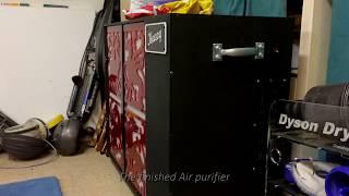Workshop Air purifier - Laser cut for Dyson repairs