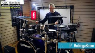 Roland TD-50 - Out The Box Preset Drum Kits Demo *ALL PLAYING*