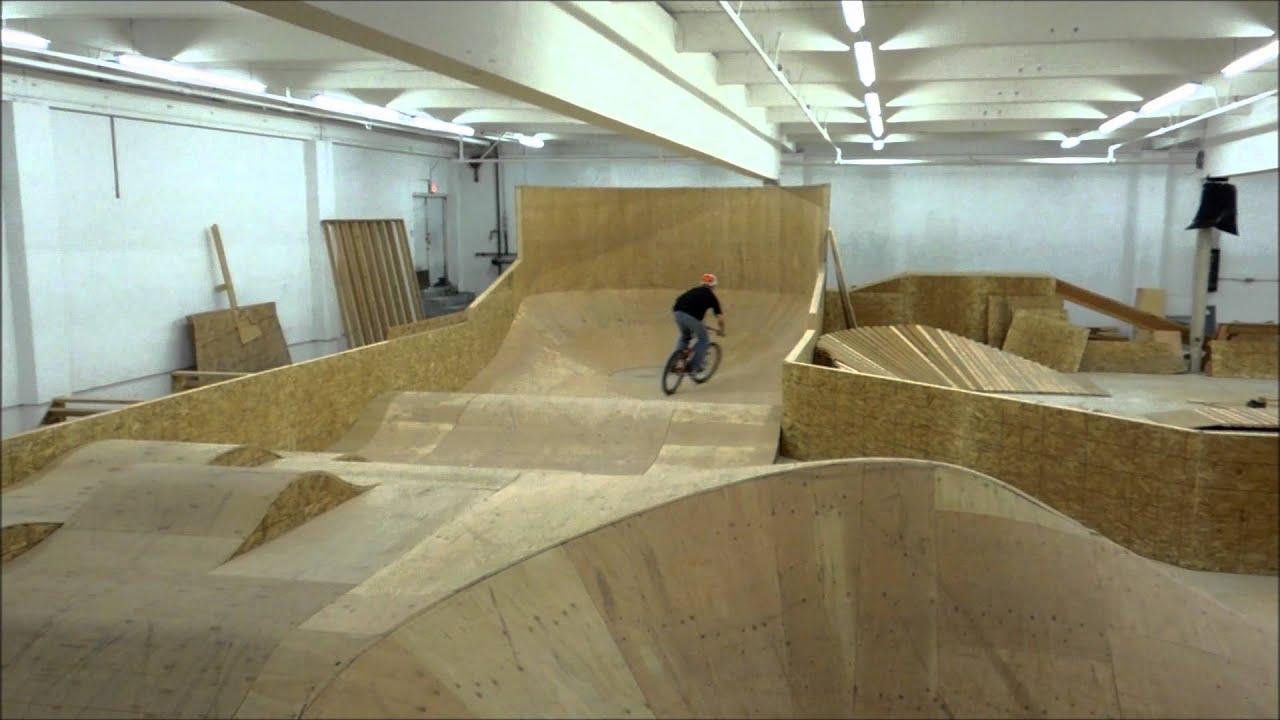 lumber yard pump track youtube
