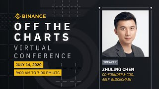 aelf COO Zhuling gave a talk at #Binance 'Off the Charts' Live Panel!