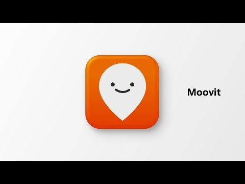 Moovit transport app instructional video