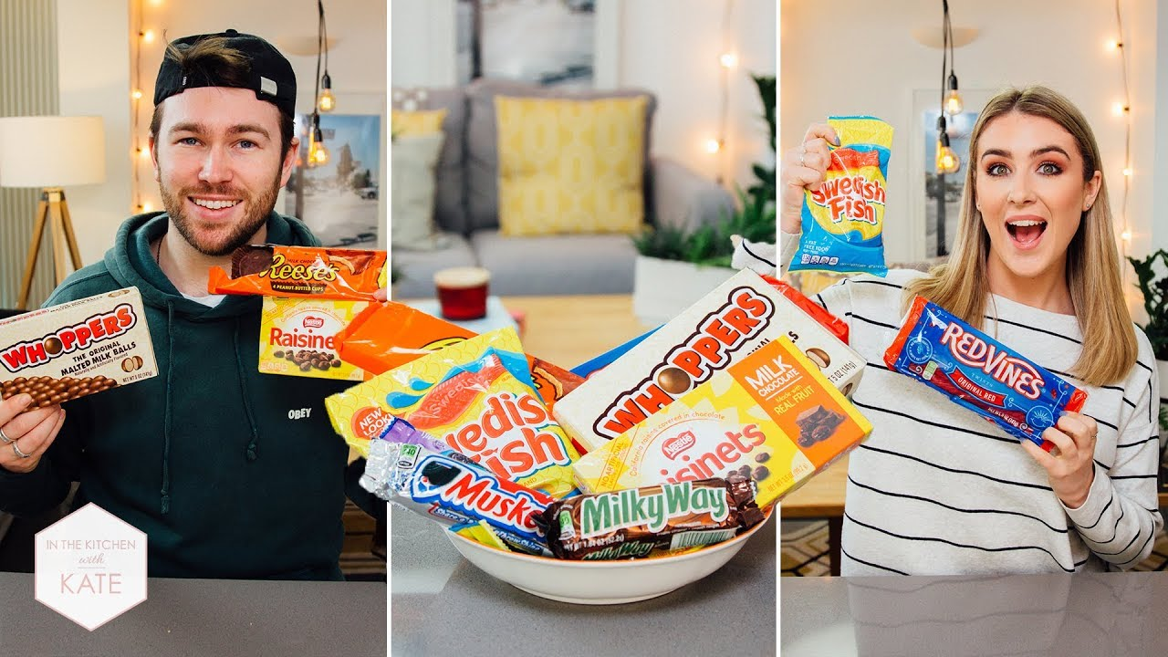 British People Trying American Candy Part 3 In The Kitchen