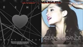 Demi Lovato & Ariana Grande - Heart Attack / The Way Mashup