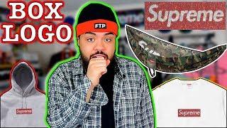 "Swarovski BOX LOGO!! Supreme SS19 Week 9 Droplist Confirmed ""Bogo + Hammock"""
