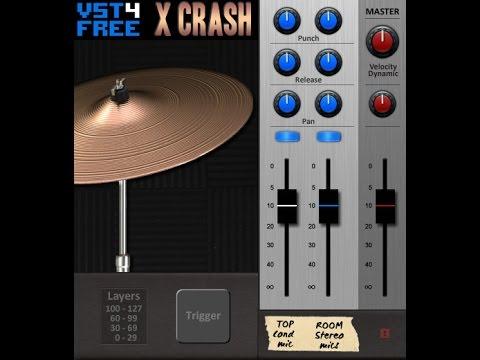 X Crash VST / AU - Crash cymbal