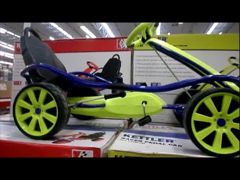 kettler racer pedal car youtube. Black Bedroom Furniture Sets. Home Design Ideas