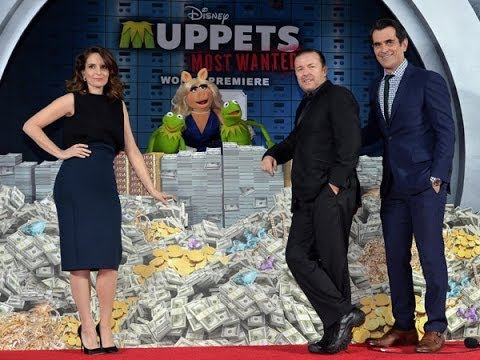 Tina Fey, Ricky Gervais, Ty Burrell and the Muppets Talk 'Muppets Most Wanted'
