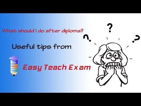 What should I do after Diploma - by Easy teach Exam | Bengali