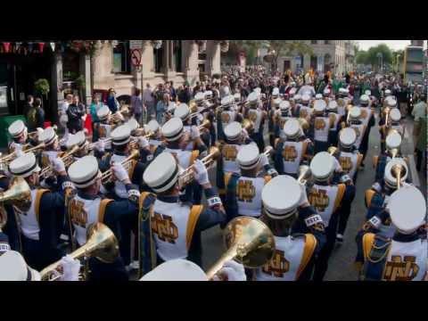 Notre Dame's Glee Club performing McNamara's Band