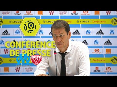 Conférence de presse Olympique de Marseille - Dijon FCO (3-0) - Ligue 1 Conforama / 2017-18