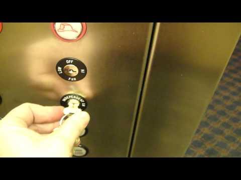 United ThyssenKrupp Hydraulic elevator @ Microtel Inn Bristol, VA with room tour