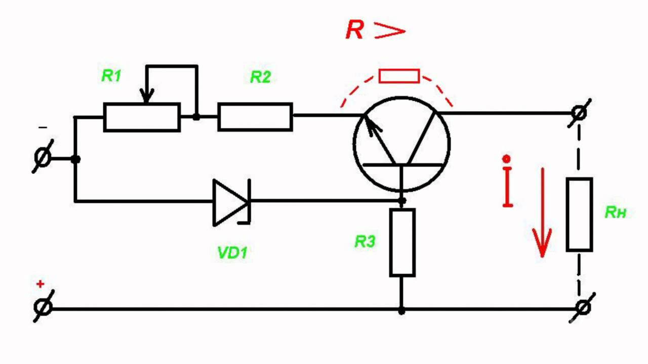 current regulator principles -- circuit design